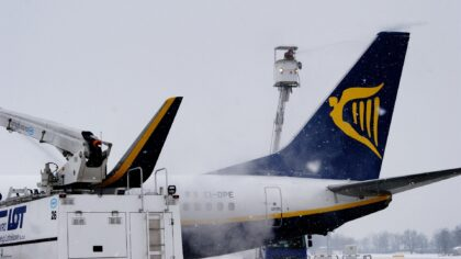 Piloci i załoga Ryanaira spali w tragicznych warunkach! Przewoźnik twierdzi, że zdjęcie to oszustwo