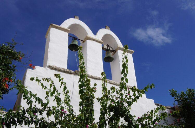 dzwonnica greckiego kościoła