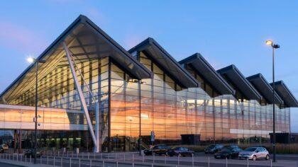 Na lotnisku w Gdańsku został otwarty największy międzynarodowy terminal kurierski DHL Express