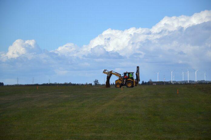 Pole pod zabudowę nowego lotniska w Suwałkach