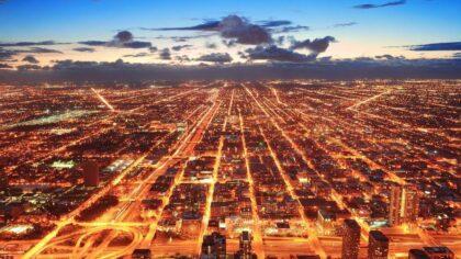Pękła szklana podłoga 412 metrów nad ziemią