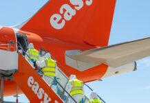 samolot easyjet w czasach Covid19