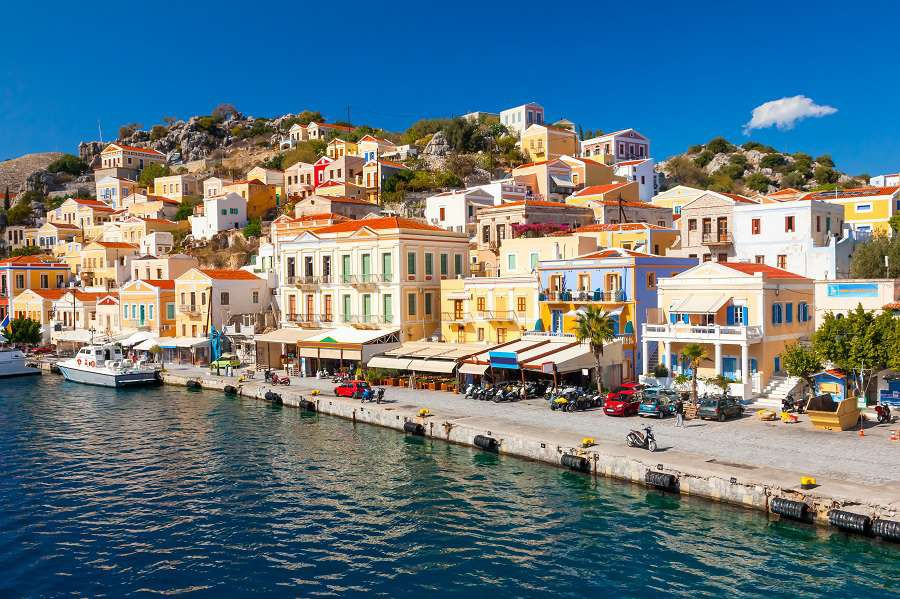 Beautiful-summers-day-on-the-Greek-island-of-Symi-in-the-Dodecanese-Greece-Europe-shutterstock_229899673