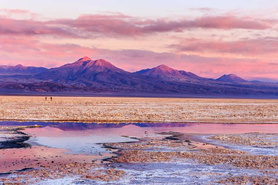 Small-lagoons-in-foreground-and-mountains-in-background.-It-was-a-colorful-sunset-on-Salar-de-Atacama-Atacama-Chile-shutterstock_538031434