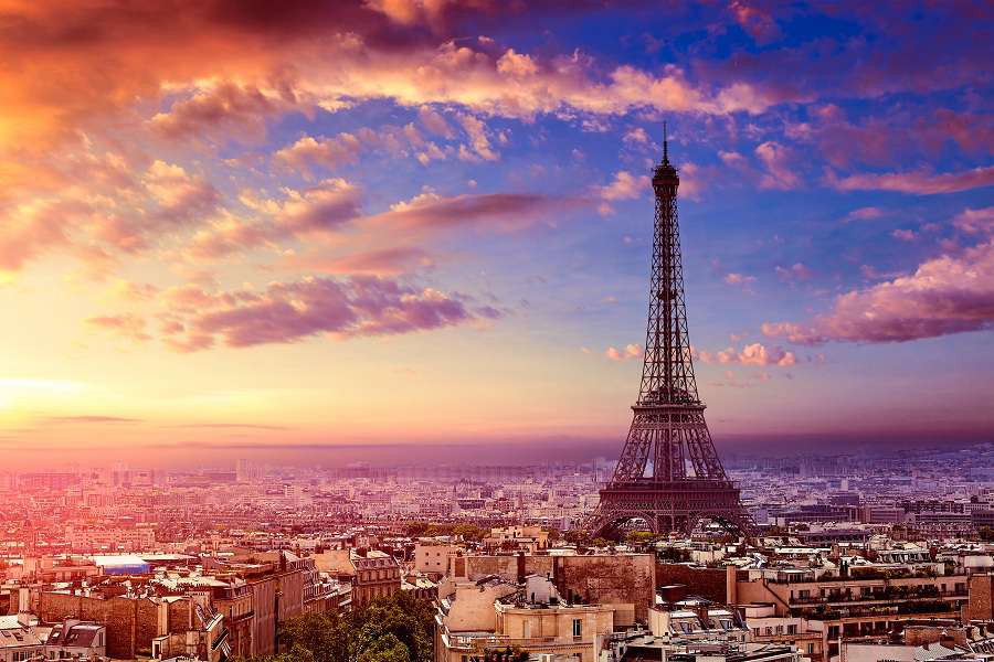 Paris-Eiffel-tower-and-skyline-aerial-view-in-France-shutterstock_594514259