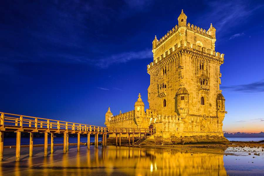 Lisbon-Portugal-at-Belem-Tower-on-the-Tagus-River-shutterstock_237156757