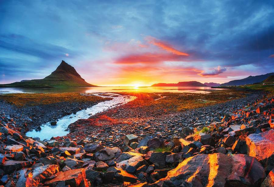 he-picturesque-sunset-over-landscapes-and-waterfalls.-Kirkjufell-mountain.-Iceland-shutterstock_574423132
