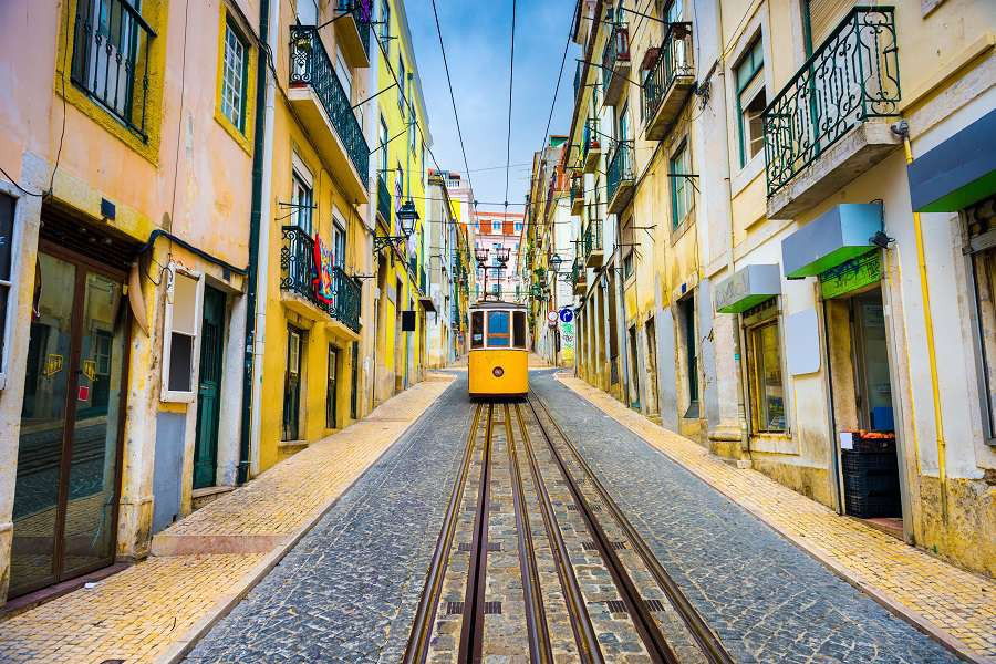 Lisbon-Portugal-old-town-streets-and-tram.-shutterstock_259698968