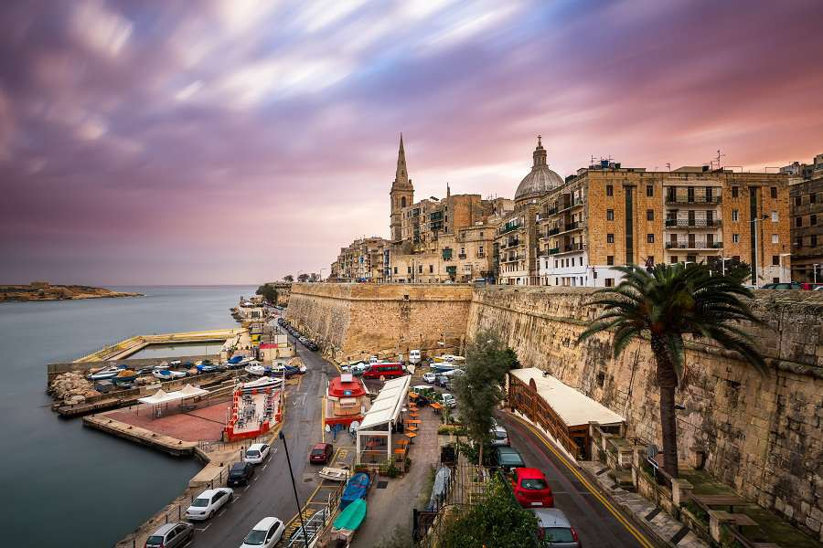 Valletta-Skyline-in-the-Cloudy-Morning-Malta-shutterstock_250639465