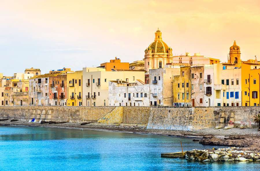 Trapani-panoramic-view-of-harbor-Sicily-Italy-shutterstock_263823611