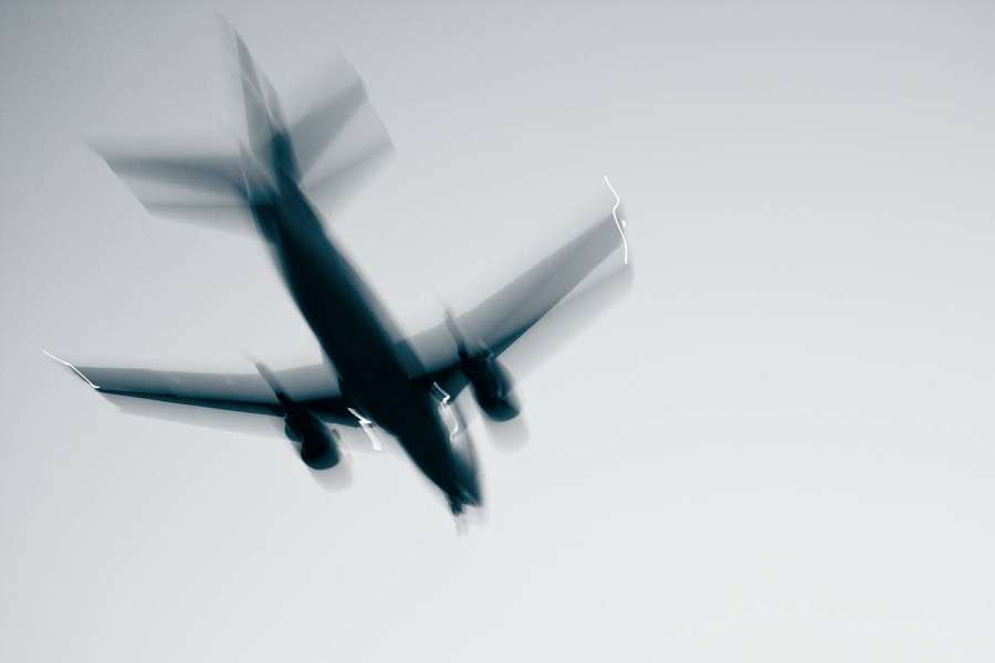 Airplane-with-problems---concept-and-idea---blurred-motion-shutterstock_87563047