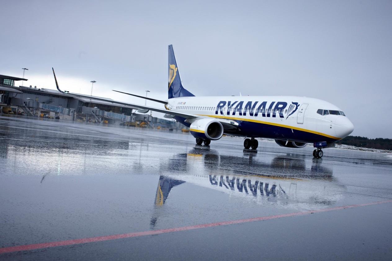 Zimowa wyprzedaż w Ryanair! Bilety już od 39 zł!
