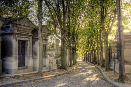 Cmentarz Père-Lachaise w Paryżu