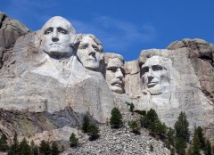 Mount Rushmore w USA