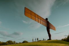 Angel of the North w Anglii