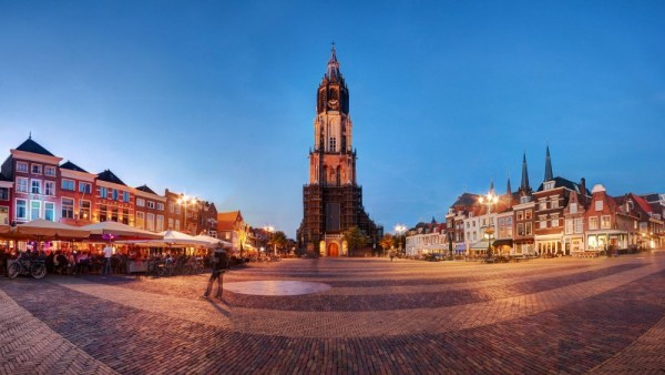 De Nieuwe Kerk w Amsterdamie