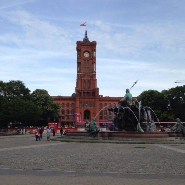 Czerwony Ratusz w Berlinie