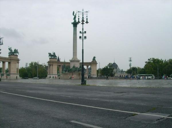 Plac Bohaterów w Budapeszcie