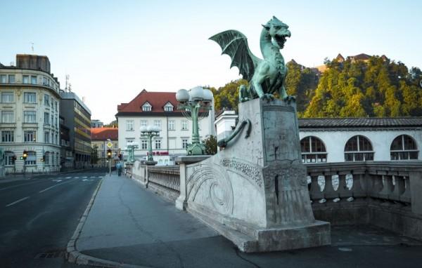 Smoczy most w Lublanie
