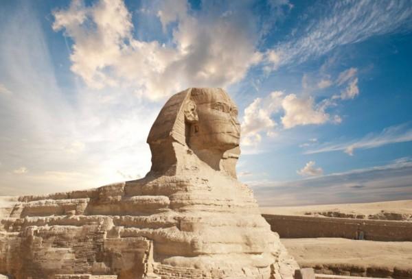 Giza – piramidy i sfinks w Egipcie
